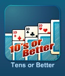 Играть Слот-автомат Tens or Better онлайн бесплатно