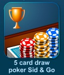 5 Card Draw Poker (Sit & Go)