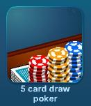 Играть 5 Card Draw Poker онлайн бесплатно